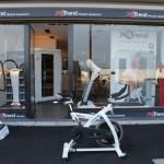 X-Trend Trilplaat Fitness Winkel Bedrijf Xtrend Knokke